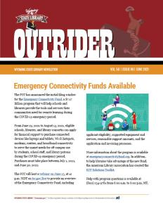 Front page of Outrider