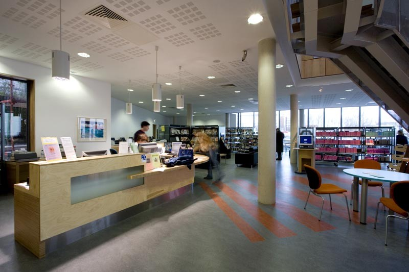 Bishopstown Library Librarybuildingsinfo