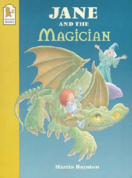 Cover of Jane and the magician by Martin Baynon