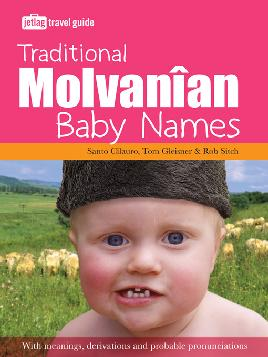 Cover of Traditional Molvanian baby names