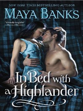 Cover of In bed with a highlander