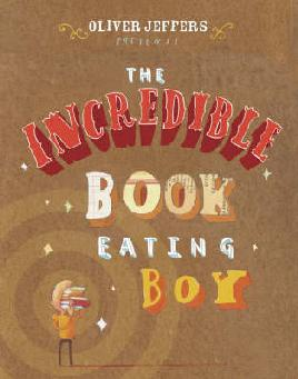 cover of The Incredible Book Eating Boy