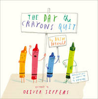 Cover of The day the crayons quit.