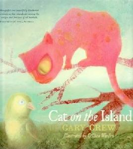 Cat on the island