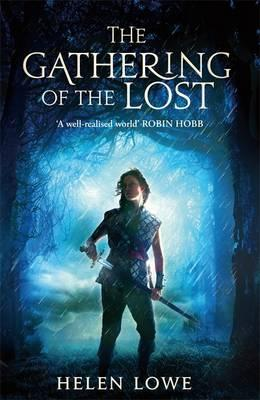 book cover for The gathering of the lost