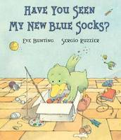 Cover of Have you seen my new blue socks