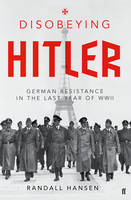 Book cover of Disobeying Hitler