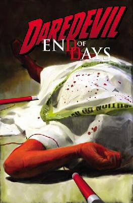 Cover of Daredevil end of days