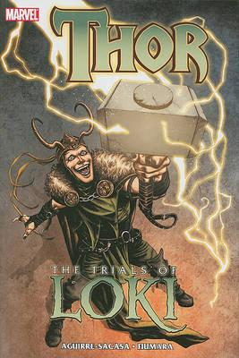 Cover of Thor the trials of Loki