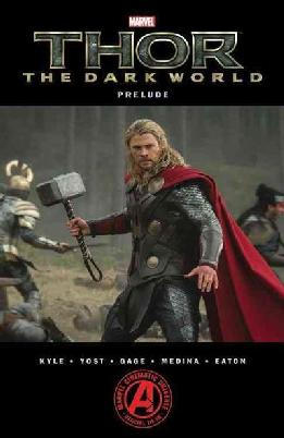 Cover of Thor: the dark world prelude