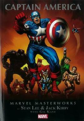 Cover of  Marvel masterworks presents Captain America volume 2