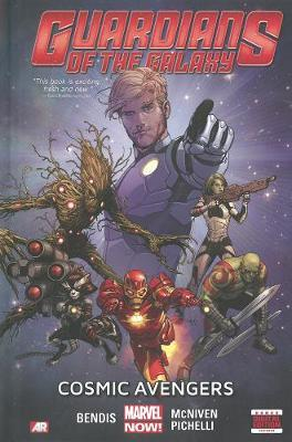 Cover of Guardians of the galaxy cosmic avengers volume 1