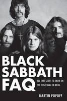 cover of Black Sabbath FAQ