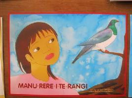 Cover for Manu rere i te rangi