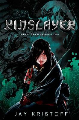 Cover: Kinslayer by J Kristoff