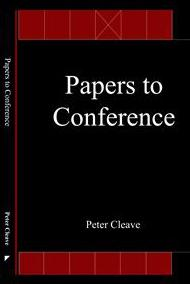 Cover of Papers to conference