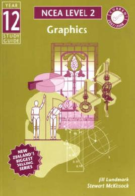 "Cover image of ""Year 12 graphics study guide"""