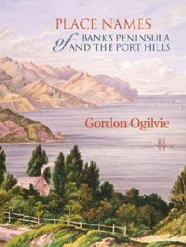 Cover of Place names of Banks Peninsula and the port hills