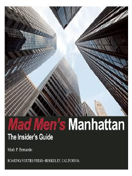 Cover of Mad Men's Manhattan