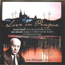 Cover of Live in Prague