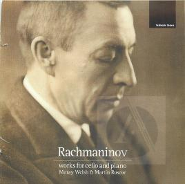 Cover of Rachmaninov works for cello and piano