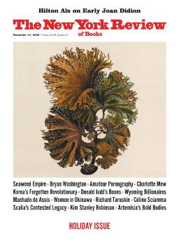 Cover of the New York review of books