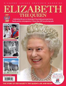 Cover of Elizabeth, the Queen Diamond Jubilee Souvenir Magazine