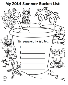 Summer Bucket List with GoNoodle and Marla Frazee