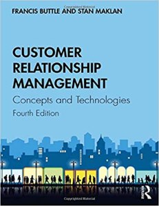 Book Cover: Customer Relationship Management: Concepts and Technologies