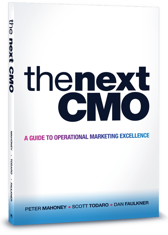 Book Cover: The Next CMO
