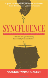 Book Cover: Syncfluence : How to Influence Your Target Audience Without Burning Cash