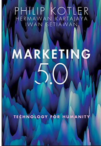 Book Cover: Marketing 5.0: Technology for Humanity