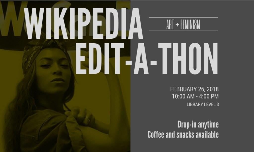 Edit-a-thon banner