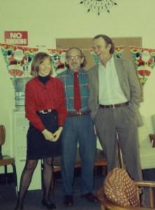 Stevens at Christmas 1994