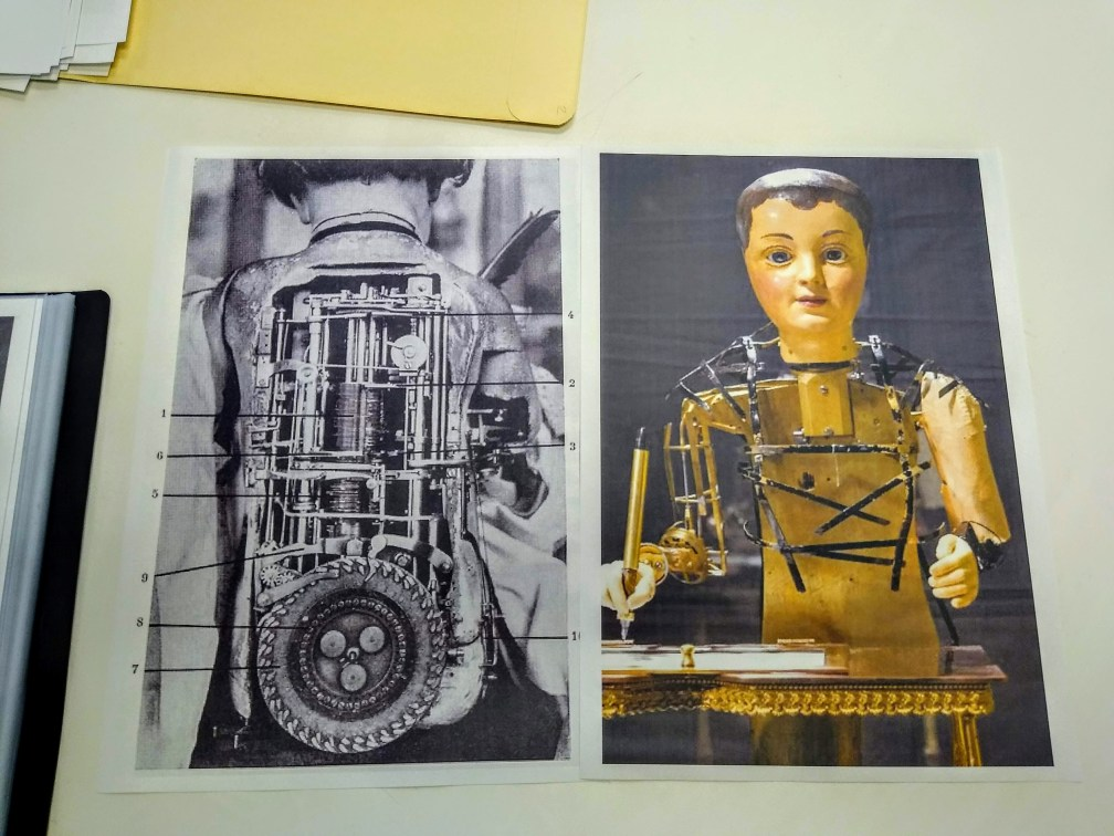 Pictures of automatons