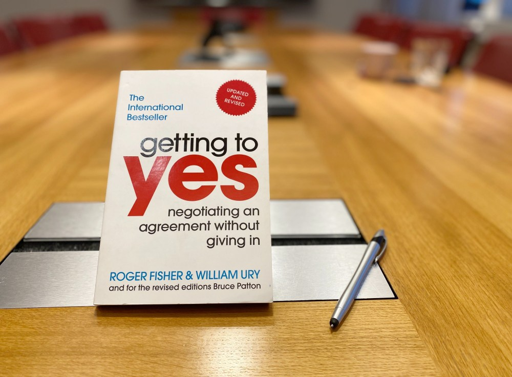 Getting to Yes | Fisher & Ury