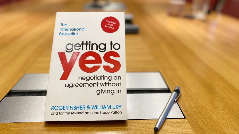 Getting to Yes   Fisher & Ury