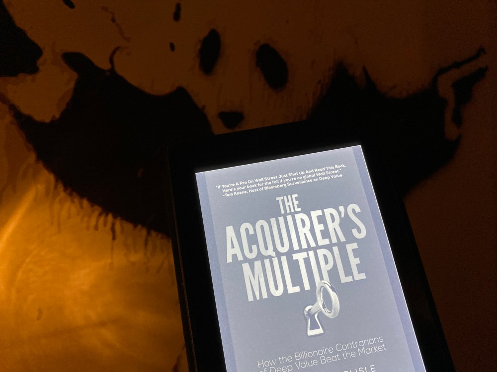 The Acquirer's Multiple | Tobias Carlisle