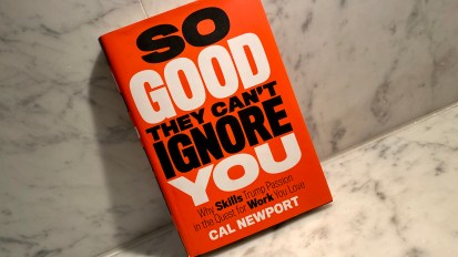 So Good They Can't Ignore you   Cal Newport