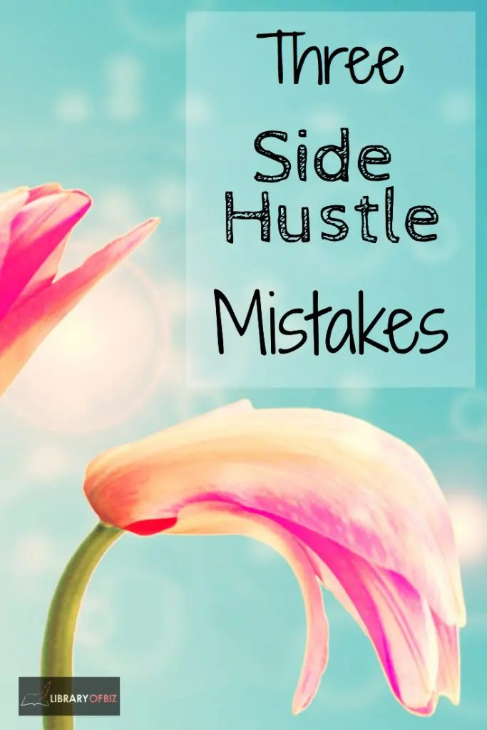 Check out how we where we went wrong with our side hustle.