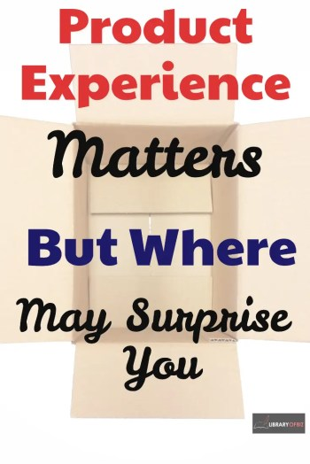 #Product experience matters! Check out how the experience can make people willing to pay more for your product and come back over and over again.