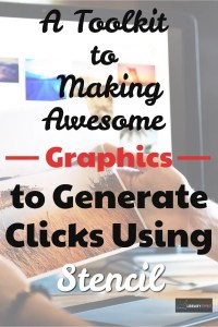 Check out this tutorial on how to make awesome graphics to help generate more clicks and make more money!