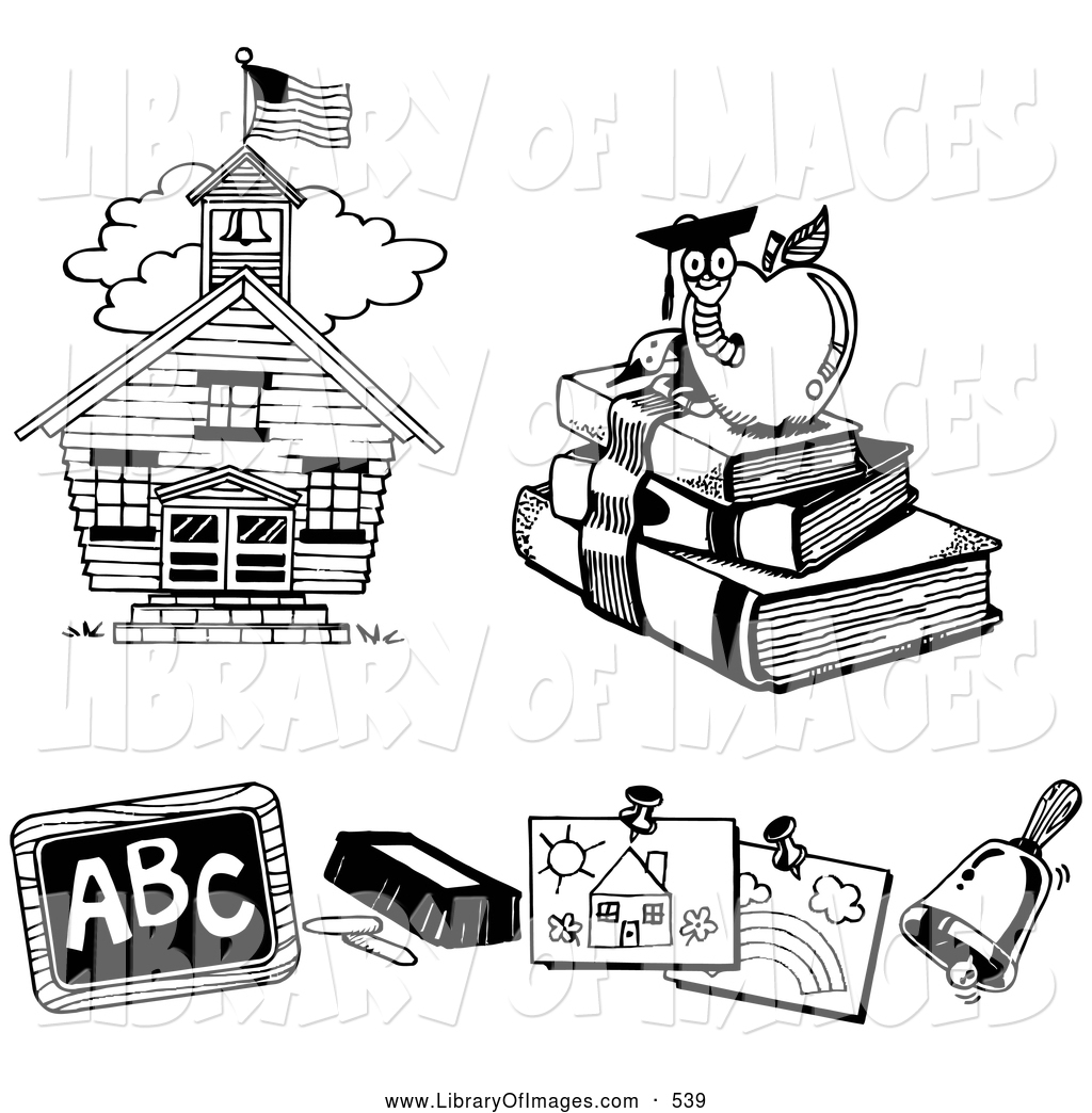 Education Clipart Black And White Clipart Download