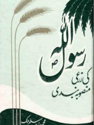 Rasool Allah Ki Zarai Mansooba Bandi Download Pdf