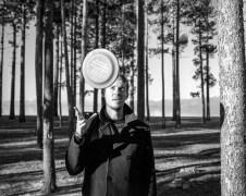 WD + frisbee, Lake Tahoe