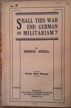 Angell, Shall this war end German militarism?