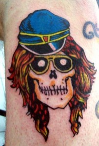 Axl Rose Tattoos Meaning