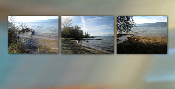 Cheyres lac