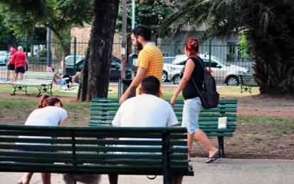 """Libreando """"plaza Martin Rodriguez"""""""