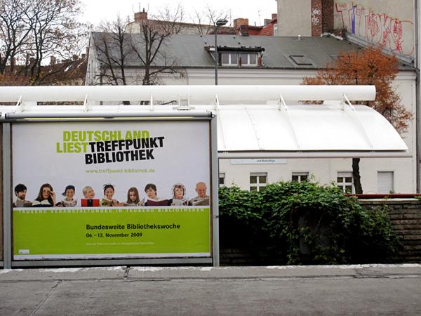 Treffpunkt Bibliothek - auf dem S-Bahnhof Lichtenberg